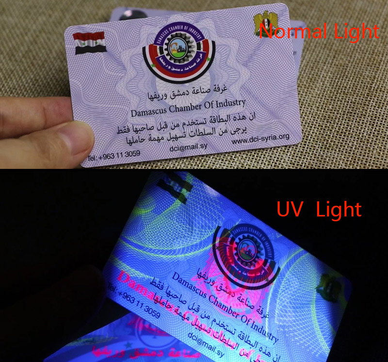 Hologram Anti-fake Cards